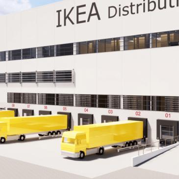 IKEA Logistikzentrum